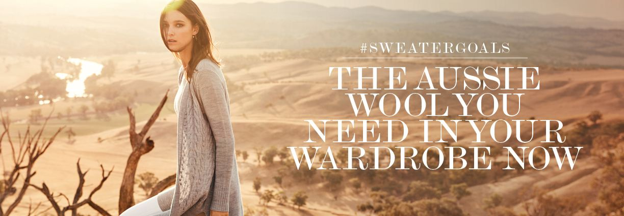Jeanswest's new Woolmark collection - the knits you need to know about