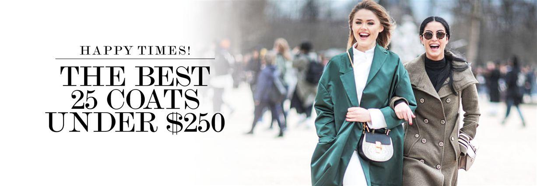 Winter fashion - 25 coast under $25 to shop online now