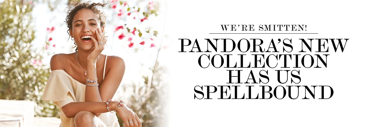 Pandora's Oriental Blooms jewellery collection fits beautifully with current runway trends