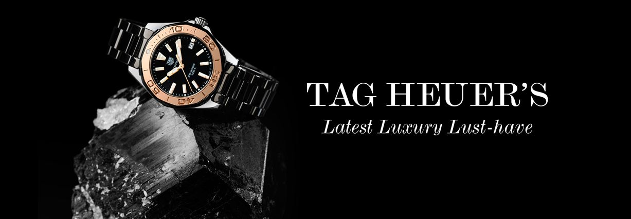 Tag Heuer's new ceramic Aquaracer Lady watch is on our wish list